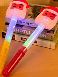 abordables -Cadeaux de noël Articles pour Célébrer Noël Jouets Fluorescent Phosphorescent Plastique 1pcs Pièces