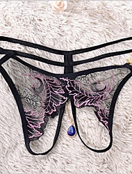 abordables -Femme strings & Tangas Jacquard Taille médiale