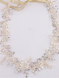 cheap -Crystal Imitation Pearl Rhinestone Headbands 1 Wedding Special Occasion Headpiece