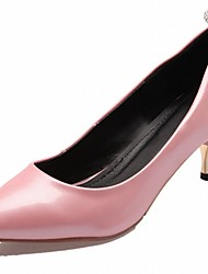 cheap -Women's Heels Spring Summer Fall Comfort Novelty Patent Leather Leatherette Wedding Office & Career Dress Casual Party & EveningKitten
