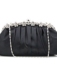 cheap -Women Bags Satin Evening Bag Ruffles for Wedding Event/Party Casual Formal Professioanl Use Outdoor Office & Career Winter Spring Summer