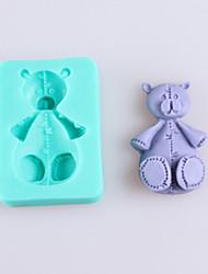cheap -Bear Shaped Fondant Cake Chocolate Silicone Molds,Decoration Tools Bakeware