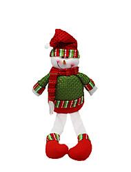 cheap -Christmas Toys Gift Bags Toys Santa Suits Snowman Textile 2 Pieces Christmas Gift