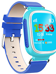cheap -Sport Watch Fashion Watch Smartwatch Digital Water Resistant / Water Proof Heart Rate Monitor Touch Screen Leather Band Digital Charm Casual Rainbow Blue / Orange / Pink - Orange Blue Pink / LED