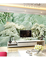 JAMMORY Art DecoWallpaper For Home Wall Covering Canvas Adhesive required Mural Jade Carving XL XXL XXXL