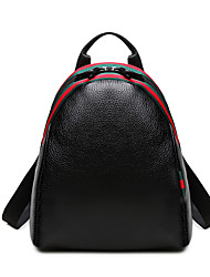 Women Bags All Seasons PU Backpack for Wedding Shopping Casual Sports Formal Outdoor Office & Career Black