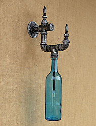Retro Nostalgia With Personality Cafe Bar Restaurant Corridor Water Bottle Wall Lamp Switch