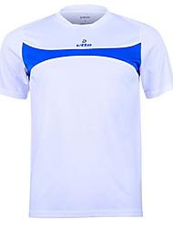 etto® Per uomo Calcio Shorts + Pantaloncini /Cosciali Maglietta/Maglia Set di vestiti Asciugatura rapida TraspirantePrimavera Estate