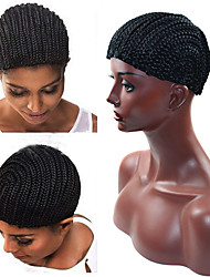 cheap -Hair Braid Afro Box Jumbo Dreadlock Havana Mambo Twist Wig Caps Wig Accessories Plastic Wigs Hair Tools (Perimeter 51cm)