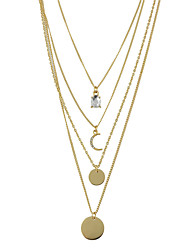 cheap -Women's Statement Necklace - Basic Fashion Others Gold Necklace For Daily