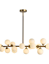 Pendant Light ,  Modern/Contemporary Brass Feature for LED Metal Living Room Bedroom Dining Room