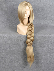 cheap -Synthetic Wig Straight Synthetic Hair Blonde Wig Women's Capless