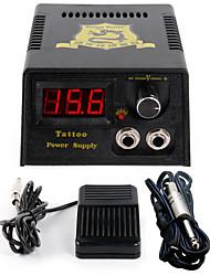 LCD 0.7 Spina di alimentazione potere professionale interruttore a pedale tatuaggio digitale
