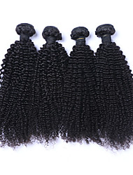4Bundles 12-28inch Natural Color Hair Weaves Brazilian Texture Curly hair weaves Top Quality Unprocessed Brazilian Virgin Hair 100%Human Hair