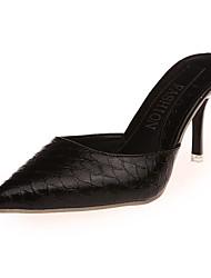 Femme Chaussures à Talons Confort Polyuréthane Printemps Eté Automne Décontracté Soirée & Evénement Habillé Marche Confort Talon Aiguille