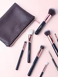 cheap -8 Makeup Brushes Set Goat Hair Full Coverage Plastic Face Eye