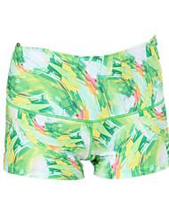 Yoga Pants Shorts Breathable Quick Dry Ultra Light Fabric Compression Stretchy Sports Wear Women's Yokaland®Yoga Pilates Exercise &
