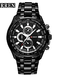 cheap -Men's Sport Watch Calendar / date / day / Water Resistant / Water Proof / Designers Alloy Band Luxury / Casual / Fashion Multi-Colored