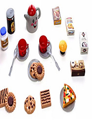 cheap -AIQILE Toy Kitchen Sets Toy Dishes & Tea Sets Toy Food / Play Food Pretend Play Girl Doll Doll Toys Food Toys Novelty Plastic Children's