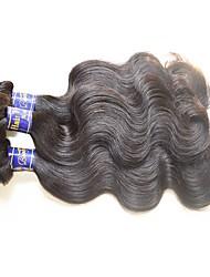 Недорогие -Перуанский Реми волос Пряди натуральных волос Реми Естественные кудри Натуральные волосы Реми