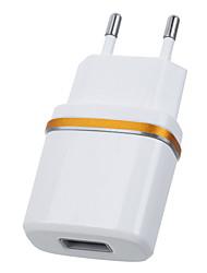 jtron dc 5.3V 2.0a USB napájecí adaptér / nabíječka (EU zásuvka) - bílá černá