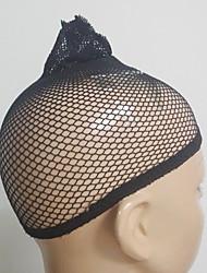 abordables -Wig Accessories Bases para Pelucas 2 pcs Diario Clásico Negro