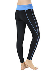 cheap -Arsuxeo Women's Running Tights / Gym Leggings - Black / Blue, Black / Pink Sports Slim Tights / Leggings Yoga, Fitness, Gym Activewear Quick Dry, Breathable, Compression High Elasticity