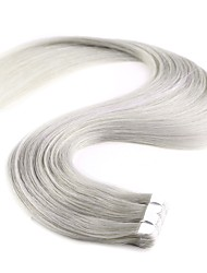 cheap -20'' 10Pcs New Fashion Mini Tape in Human Hair Extensions 100% Remy PU Skin Weft