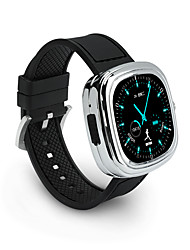 m2 smart watch micro carte SIM ios / android / mac os / appels / contrôle de message iphone mains-libres bluetooth4.0