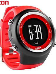 Montre de sports de plein air Ezon gps numériques de synchronisation en cours d'exécution montre la distance compteur de calories montres