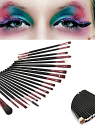 cheap -20PCS Professional Eyeshadow Makeup Brush Set Powder Foundation Eyeliner Lip Cosmetic Makeup Brush Set(2 Color Selected)