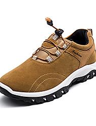 Atletické boty-PU-Pohodlné-Pánské-Černá Modrá Žlutá Šedá-Běžné-Plochá podrážka