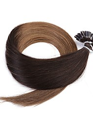 Neitsi 20'' 50g/lot 1g/s Ombre Pre bonded Nail U Tip Fusion  Human Hair Extensions 100% Remy T2-8#