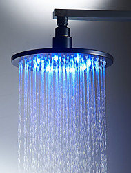 cheap -Antique Rain Shower Antique Bronze Feature - Rainfall Eco-friendly LED, Shower Head