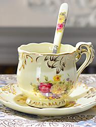1 PC European Ceramic Coffee Cup Set American Tea Cup