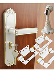 Door Hardware Set Color White&Gold
