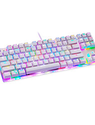 Motospeed K857 Mechanical keyboard USB Blue Switch RGB backlit