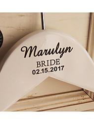 Wedding Birthday Graduation Engagement Bridal Shower Valentine Valentine's Day Wedding Party Wood Aluminum Alloy Satin Wedding Decorations