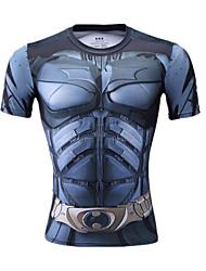 Per uomo Unisex T-shirt da corsa Manica corta Traspirante Comodo Top per Esercizi di fitness Corsa LYCRA® Taglia piccola S M L XL XXL