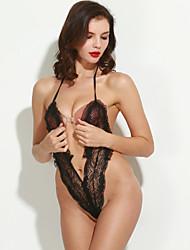 Недорогие -Жен. Комбинация Ультра-секси Ночное белье - Чистый цвет, Однотонный