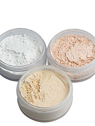 cheap -1Pcs Magical Halo Long Lasting Loose Powder Waterproof Matte Setting Powder With Puff Concealer Light Banana Powder Mineral Makeup