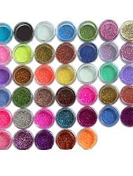 abordables -45pcs Manucure Dé oration strass Perles Maquillage cosmétique Nail Art Design
