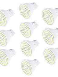 cheap -10pcs 5W 450 lm GU10 LED Spotlight 80 leds SMD 2835 Decorative Warm White Cold White 3000/6000K AC220V