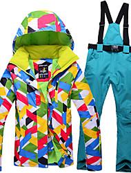baratos -mulheres ski se adapte suspensórios removíveis prova de vento para manter aquecido