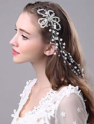 abordables -Perle Bandeaux Pince à cheveux 1 Mariage Occasion spéciale Casque