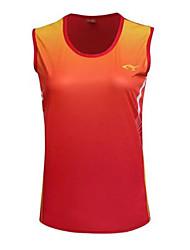 Unisex Canotta da corsa Senza maniche Traspirante Comodo Top per Esercizi di fitness Corsa Terylene Taglia piccola M L XL XXL XXXL