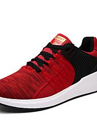 Femme-Extérieure Décontracté Sport-Noir Bleu Rouge-Creepers-Creepers Confort-Chaussures d'Athlétisme-Similicuir