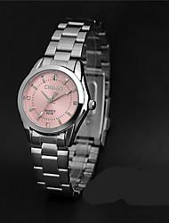 LONGBO Women's Fashion Watch Simulated Diamond Watch Quartz / Imitation Diamond Alloy Band Casual Silver
