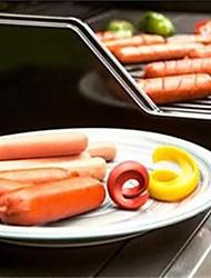 2 pièces Hot-dog Taille crayon Autre For Pour Ustensiles de cuisine Autre Plastique Creative Kitchen Gadget