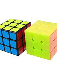 Недорогие -Кубик рубик YONG JUN 3*3*3 Спидкуб Кубики-головоломки головоломка Куб Новый год День детей Подарок Классический и неустаревающий